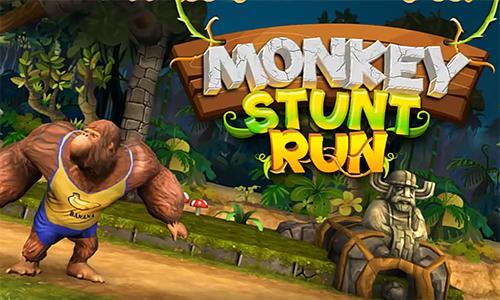 Monkey stunt run Screenshot