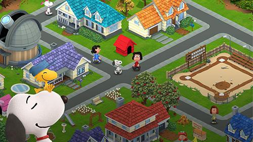 ігри за мультфільмамиPeanuts. Snoopy's town tale: City building simulatorукраїнською