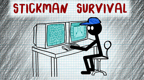 Stickman five nights survival Screenshot