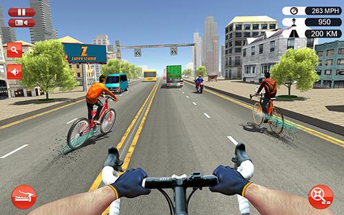 Bicycle quad stunts racer en español