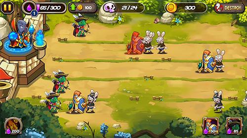 Скриншот Zombie rabbits vs Sheldon на андроид