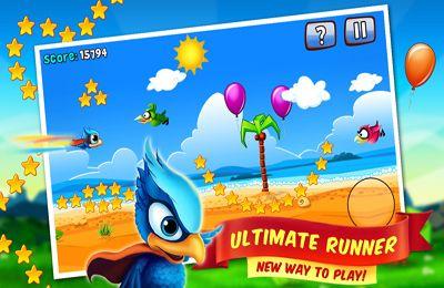 Arcade-Spiele: Lade Die Vogelmanie auf dein Handy herunter