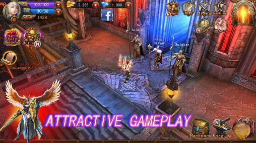 Online games The exorcist: 3D action RPG in English
