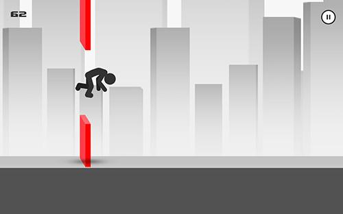 Stickman parkour runner für Android