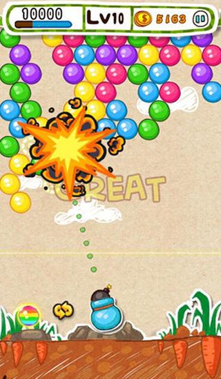 Doodle bubble für Android
