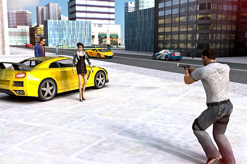 Crime of clash gangsters 3D für Android