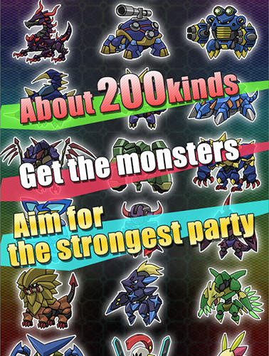 Capsule toy monsters for Android