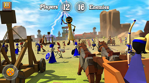 Greek warriors: Castle defence para Android