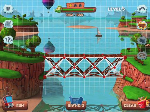 Logikspiele Bridge builder simulator für das Smartphone