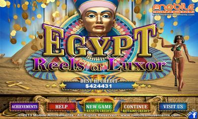 Gambling games Egypt Reels of Luxor for smartphone