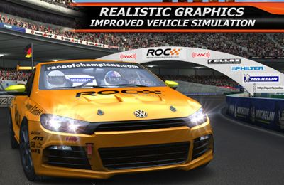 Multiplayer games: download Race Of Champions World to your phone