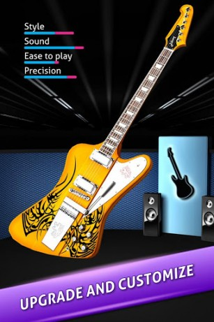 Rock life: Be a guitar hero pour Android