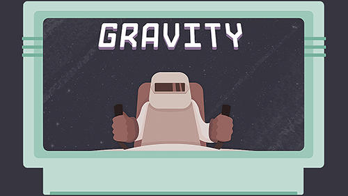 Gravity: Journey to the space mission... All alone... Symbol