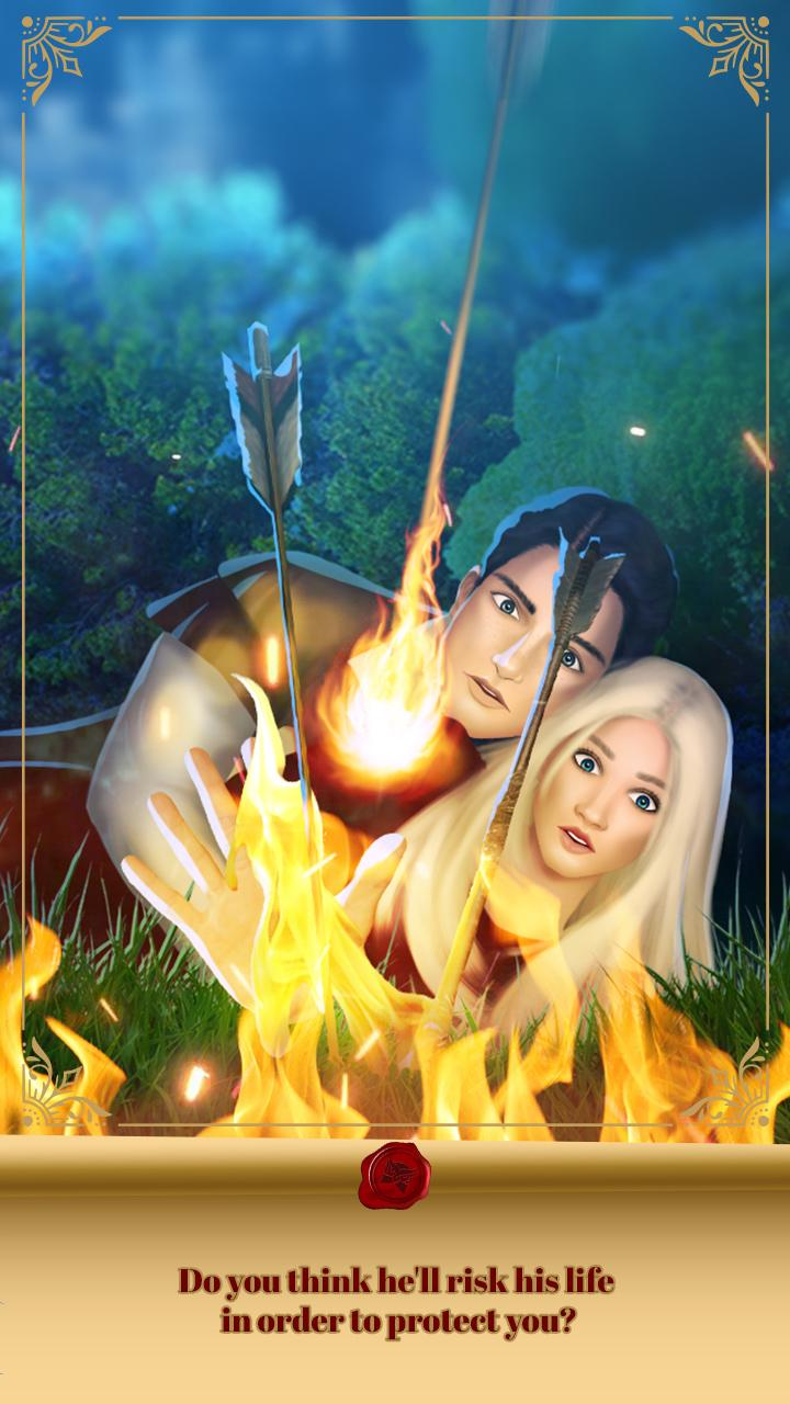 Love Story Games: Royal Affair screenshot 1