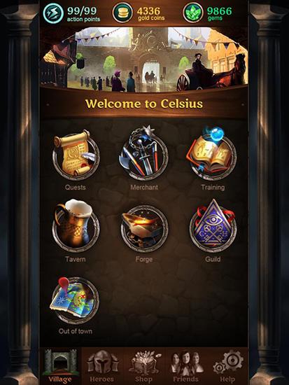Celsius heroes скріншот 1