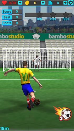 Sportspiele Shoot goal: League 2017 für das Smartphone