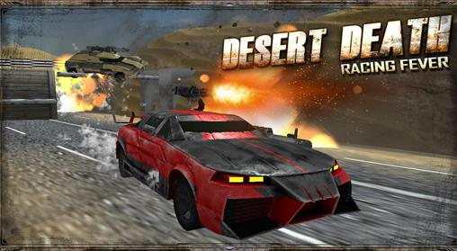 Desert death: Racing fever 3D Symbol