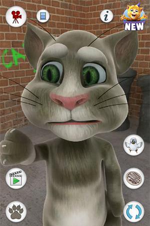 Simulateurs Talking Tom Cat v1.1.5 pour smartphone