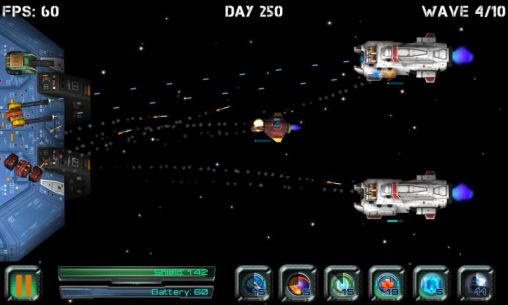 Space station defender 3D screenshots