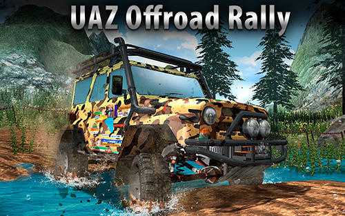 UAZ 4x4 offroad rally captura de tela 1
