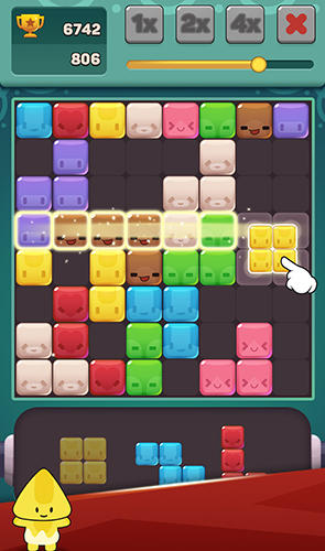 Cute block puzzle buddies für Android