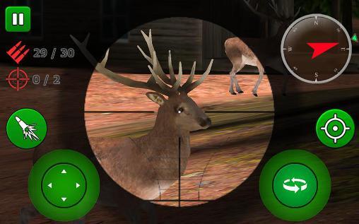 Sniper game: Deer hunting für Android