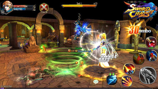 Sword of chaos para Android