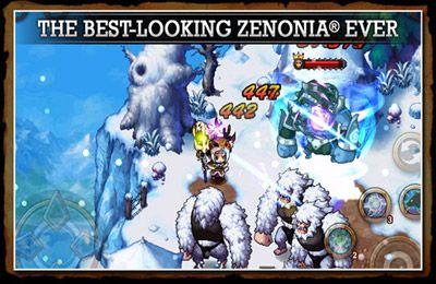 Screenshot Zenonia 4 auf dem iPhone