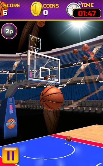 Swipe basketball auf Deutsch