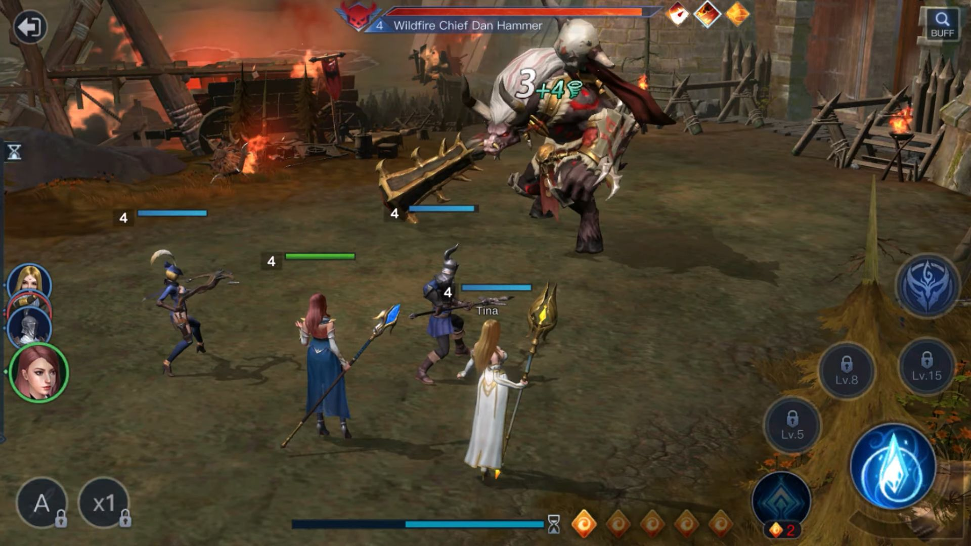 Wartune Mobile - Epic magic SRPG für Android