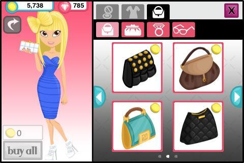 Dress up games Fashion story: Pool party in English