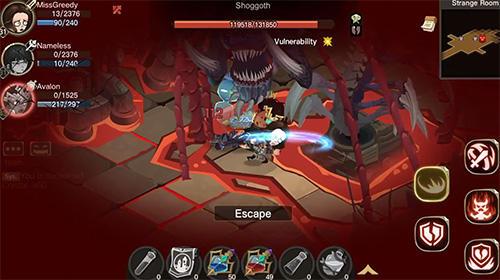 Online RPG The greedy cave 2: Time gate auf Deutsch