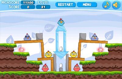 Wütende Hühner Pro für iPhone