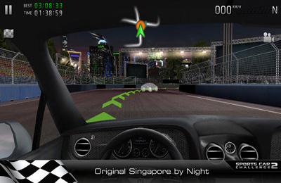 Rennwagen Wettbewerb 2 für iPhone