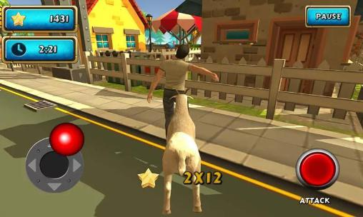Crazy goat rampage sim 3D Screenshot