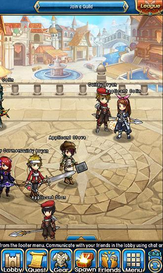 RPG-Spiele Unison league für das Smartphone