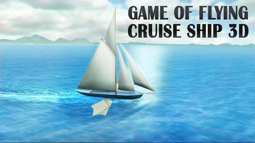 Game of flying: Cruise ship 3D Symbol