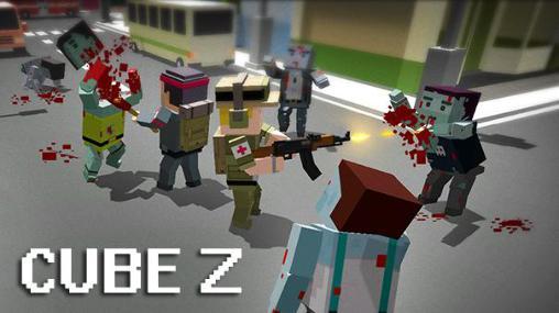Cube Z: Pixel zombies captura de tela 1