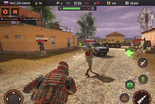 Striker zone: 3D online shooter for Android
