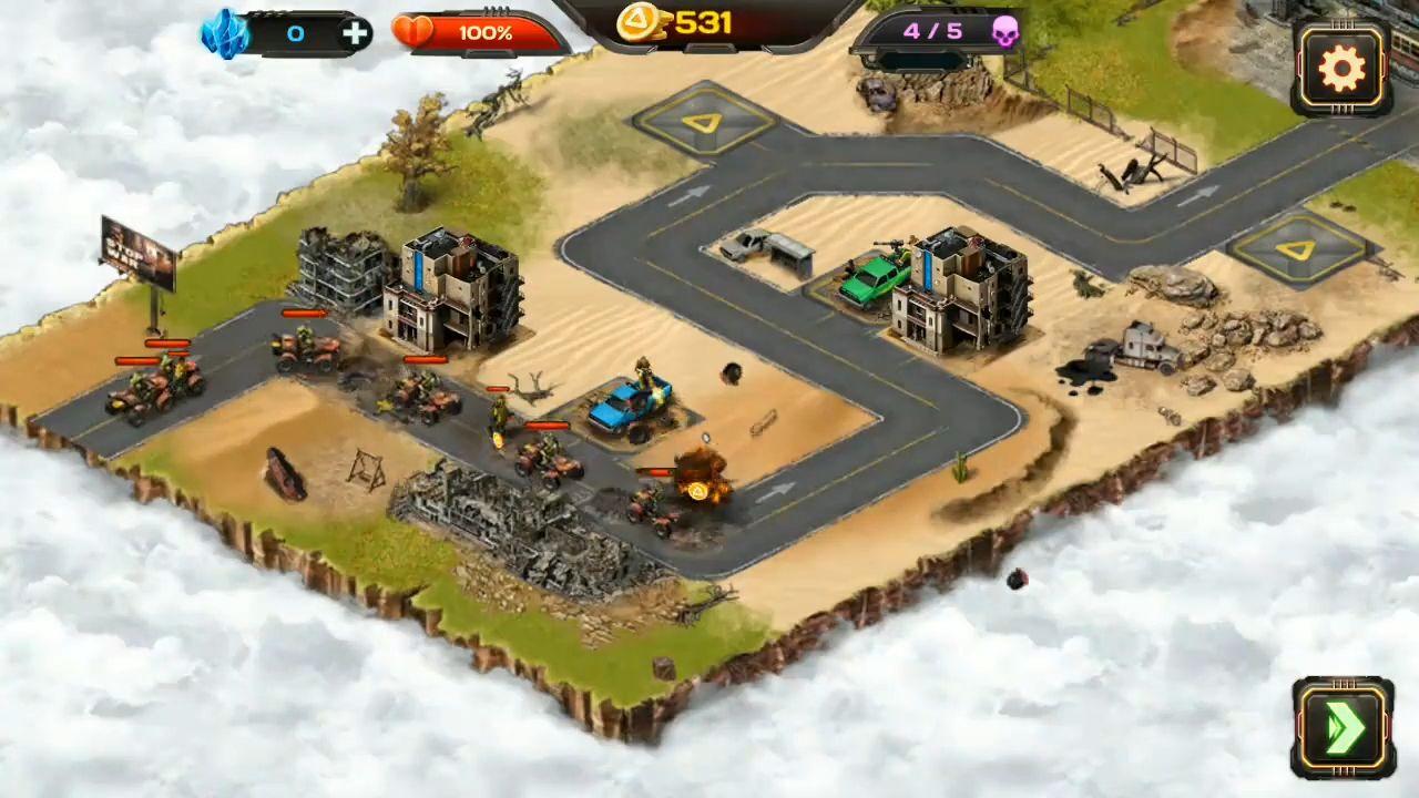 Android用 AOD: Art of Defense — Tower Defense Game