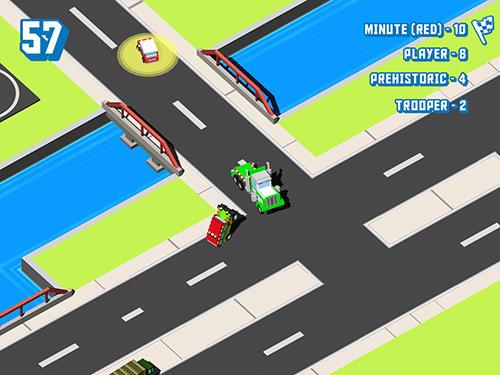 Arcade-Spiele Smashy cars.io für das Smartphone