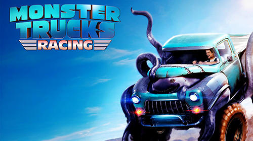 Monster trucks racing captura de pantalla 1