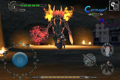 Devil may cry 4 for iOS devices