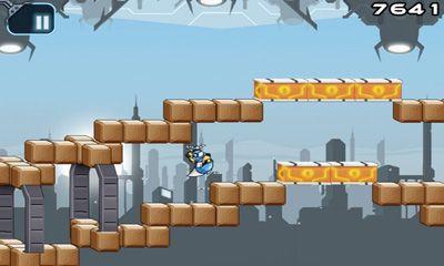 Platformer Gravity Guy in English