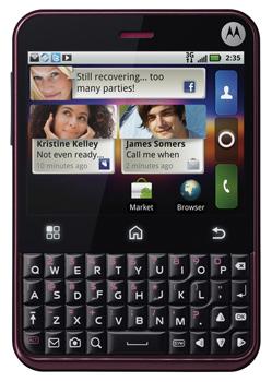 Motorola Charm apps