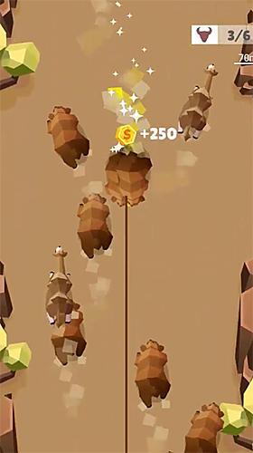 Cowboy-Spiele Cowboy GO!: Catch giant animals auf Deutsch