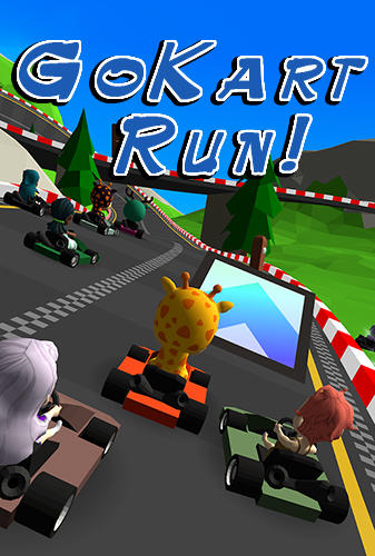 Screenshot GoKart Lauf auf dem iPhone