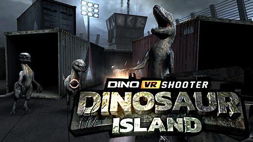 Dino VR shooter: Dinosaur hunter jurassic island скриншот 1