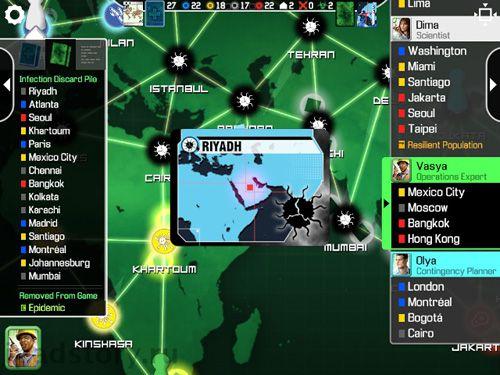 Strategiespiele Pandemic: Das Brettspiel auf Deutsch