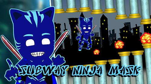 Subway ninja mask game Symbol